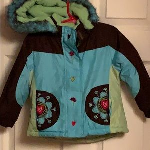 Rothschild winter coat size 2T